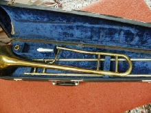 TROMBONE  A  COULISSE TENOR    SELMER  23      K- MODIFIED