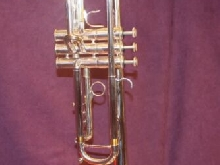Fantastic Jerome Callet Soloist L Bore Silver Bb Trumpet, Silver, Case and Mtpc