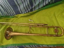Trombone tenore Henri Selmer K-Modified 23 Special Made in France Paris del 1939