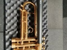 DaCarbo Unica Trumpet in Bb tromba, carbon bell. Like a new.