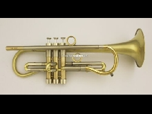 Van Laar tromba sib Aquino Brushed Raw Brass