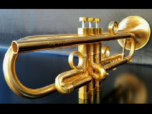 JP by Taylor  U.K. Satin Gold     Custom Bb Trumpet- Professional (Heavy Weight)