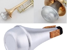 Aluminium Straight Trumpets Mute pour Jazz Instrument Practice BeginnDY