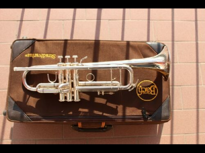 Bach stradivarius 180 ML 72, Bb trumpet, silver coated