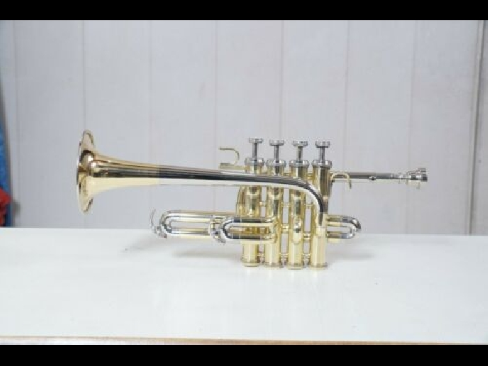 Piccolo trumpet  nickel and Brass