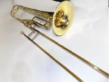 New O?Malley Contrabass Trombone key of F  D/Bb Hagmaan style valves  W/Case MP